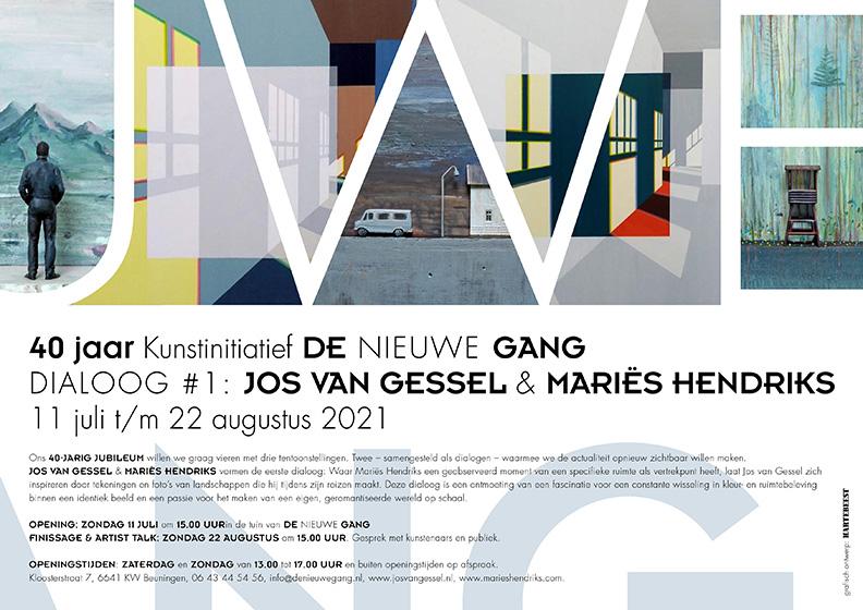 Finissage en Artist-talk met Jos van Gessel en Mariës Hendriks